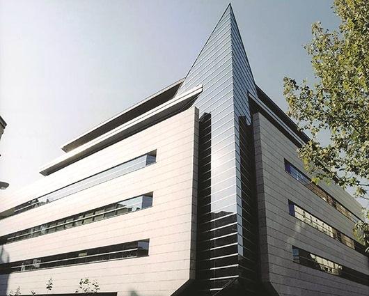 Exterior sede corporativa de ILUNION en la calle Pechuán