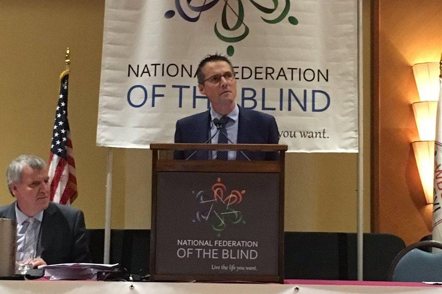 Fernando Riaño interviene en la Asamblea General de la Unión Mundial de Ciegos