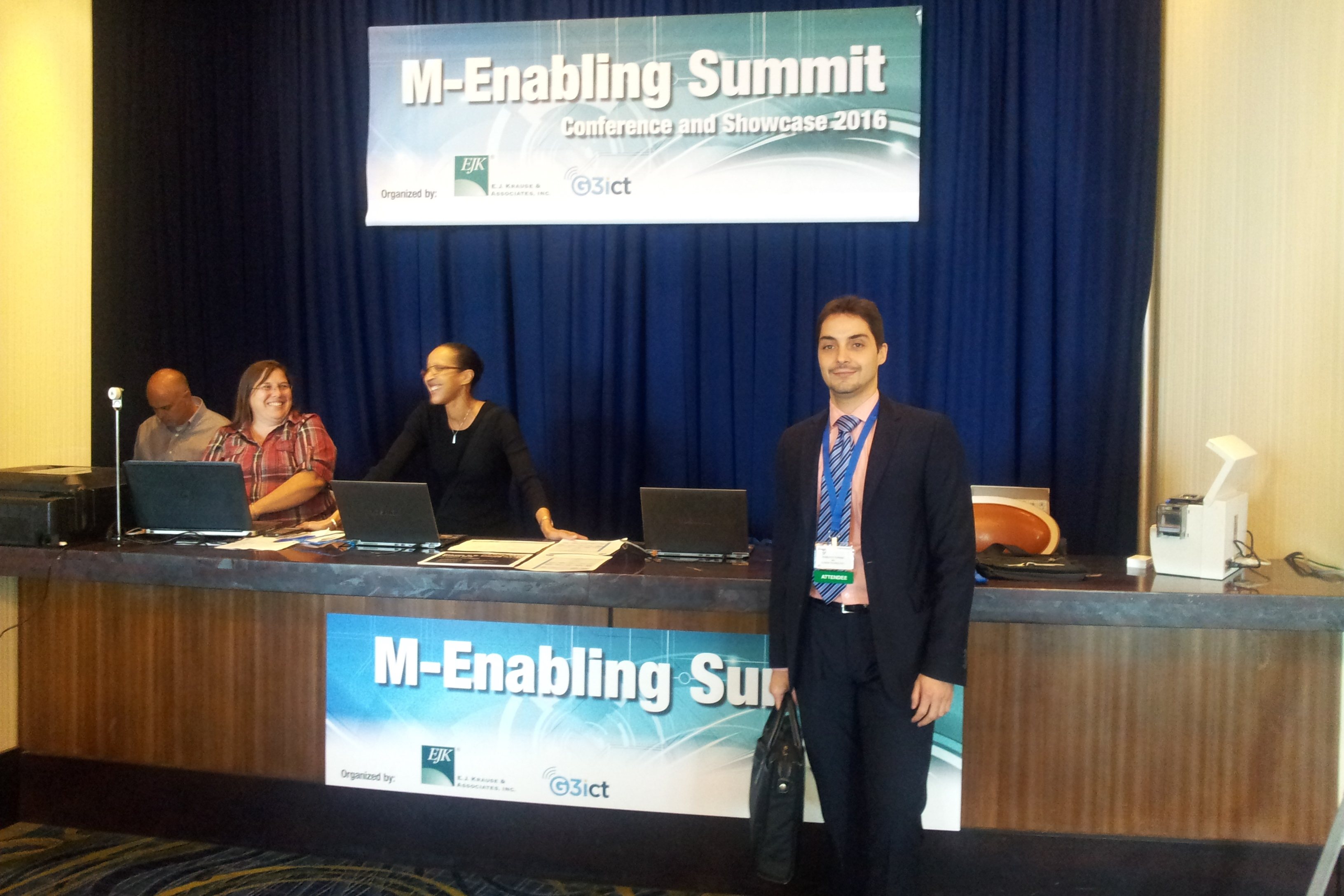 Personal de ILUNION en el M-enabling Summit
