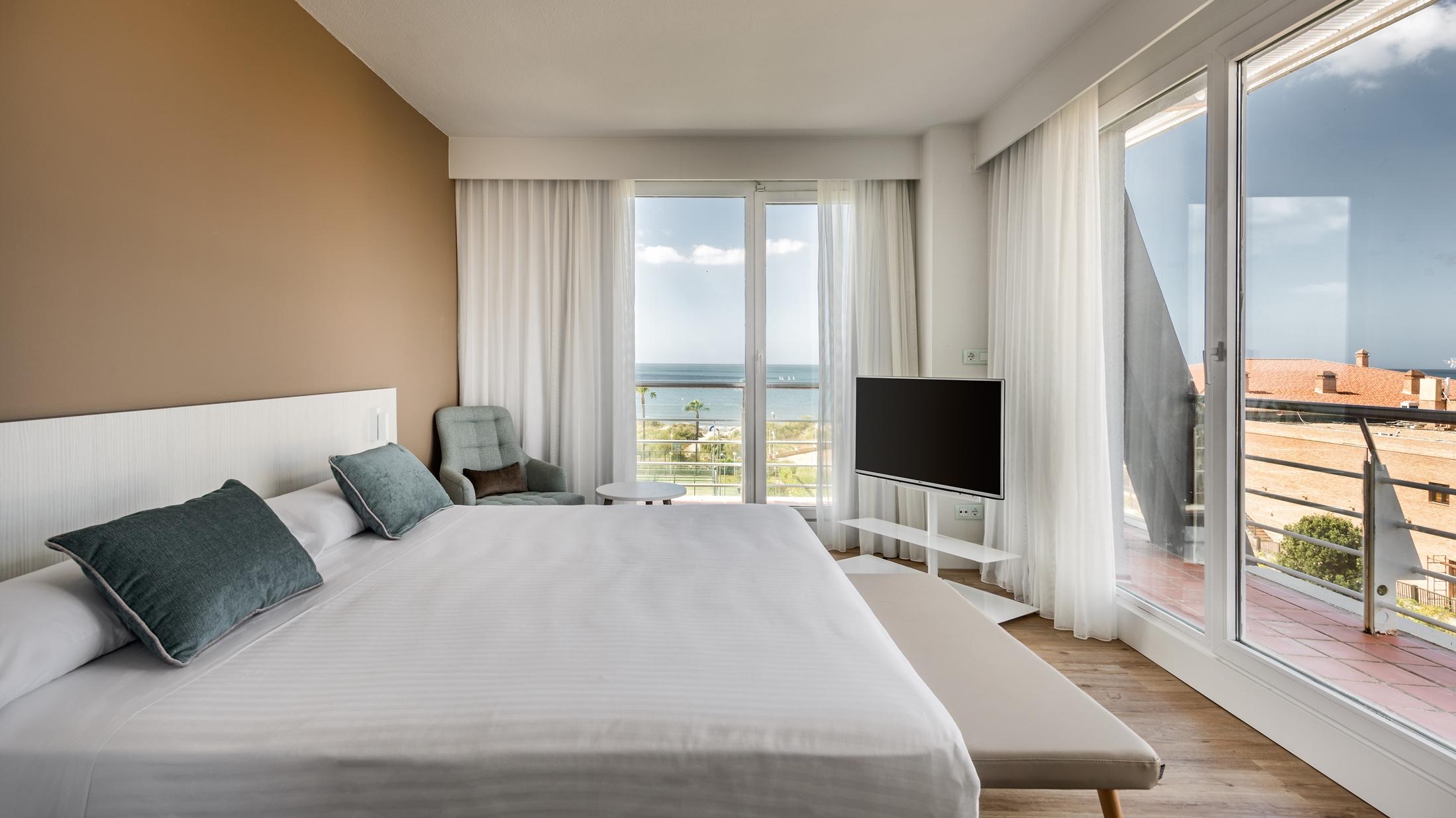 Habitación del hotel ILUNION Islantilla
