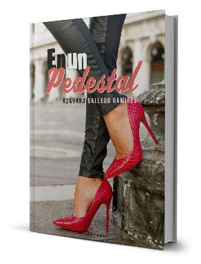 Portada del libro, titulado 'En un pedestal'