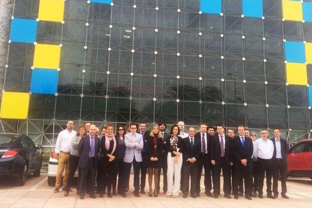 PORTADA OK Foto de familia del equipo de ILUNION Contact Center BPO