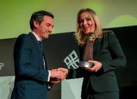 El director de ILUNION Hotels, recibe el Premio de la Ética de la Organización Mundial del Turismo