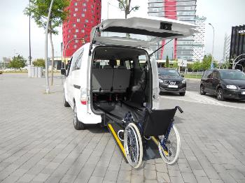 Imagen del coche eléctrico adaptado