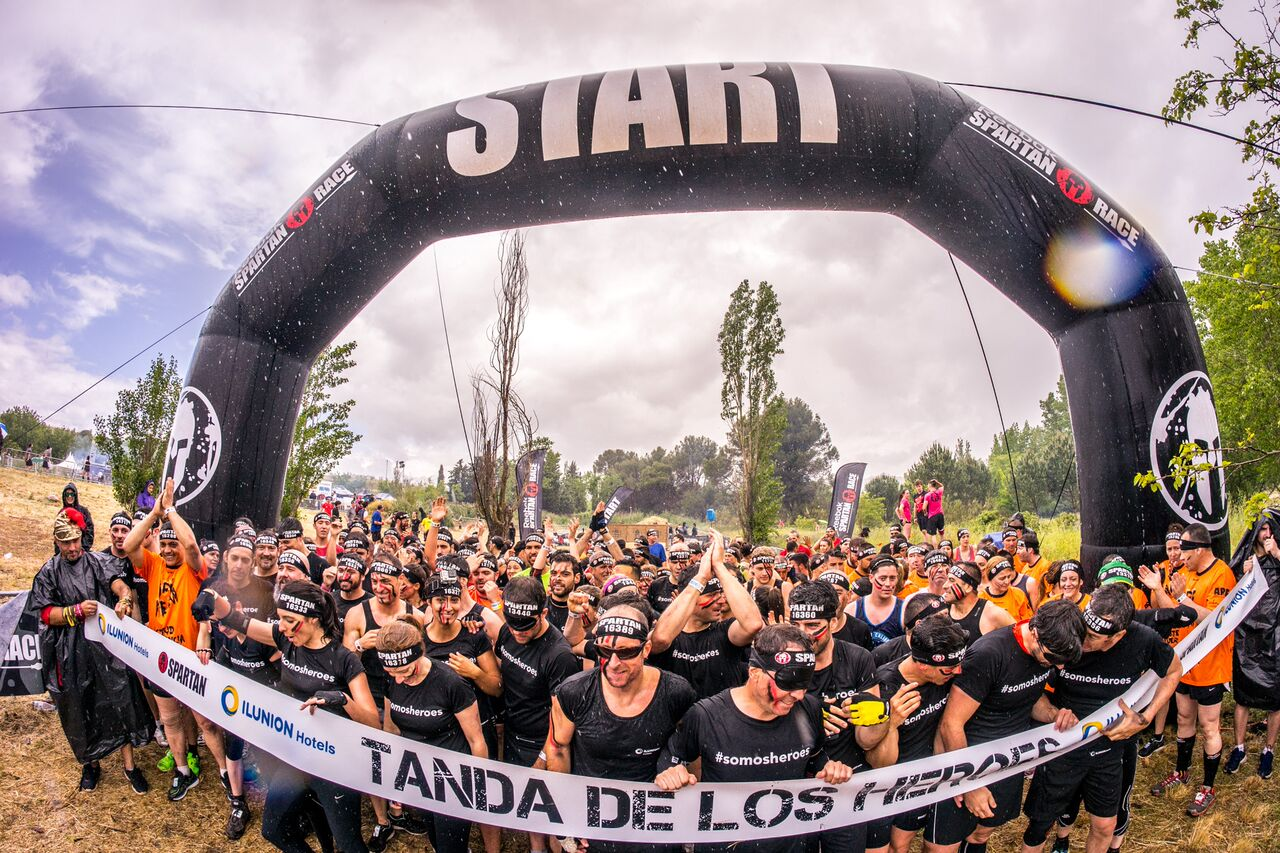 Foto de la salida de la Spartan Race 2016