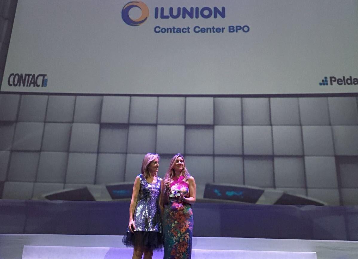 ILUNION Contact Center BPO galardonada en los Platinum Awards