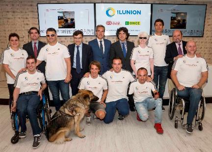 Foto de familia Trainers Paralímpicos