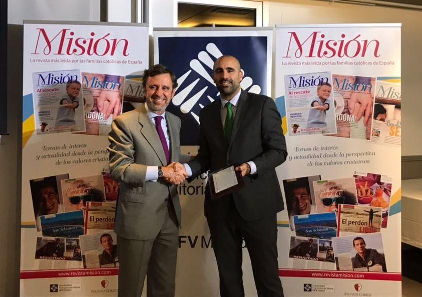 Entrega de los premios de la Revista Misión