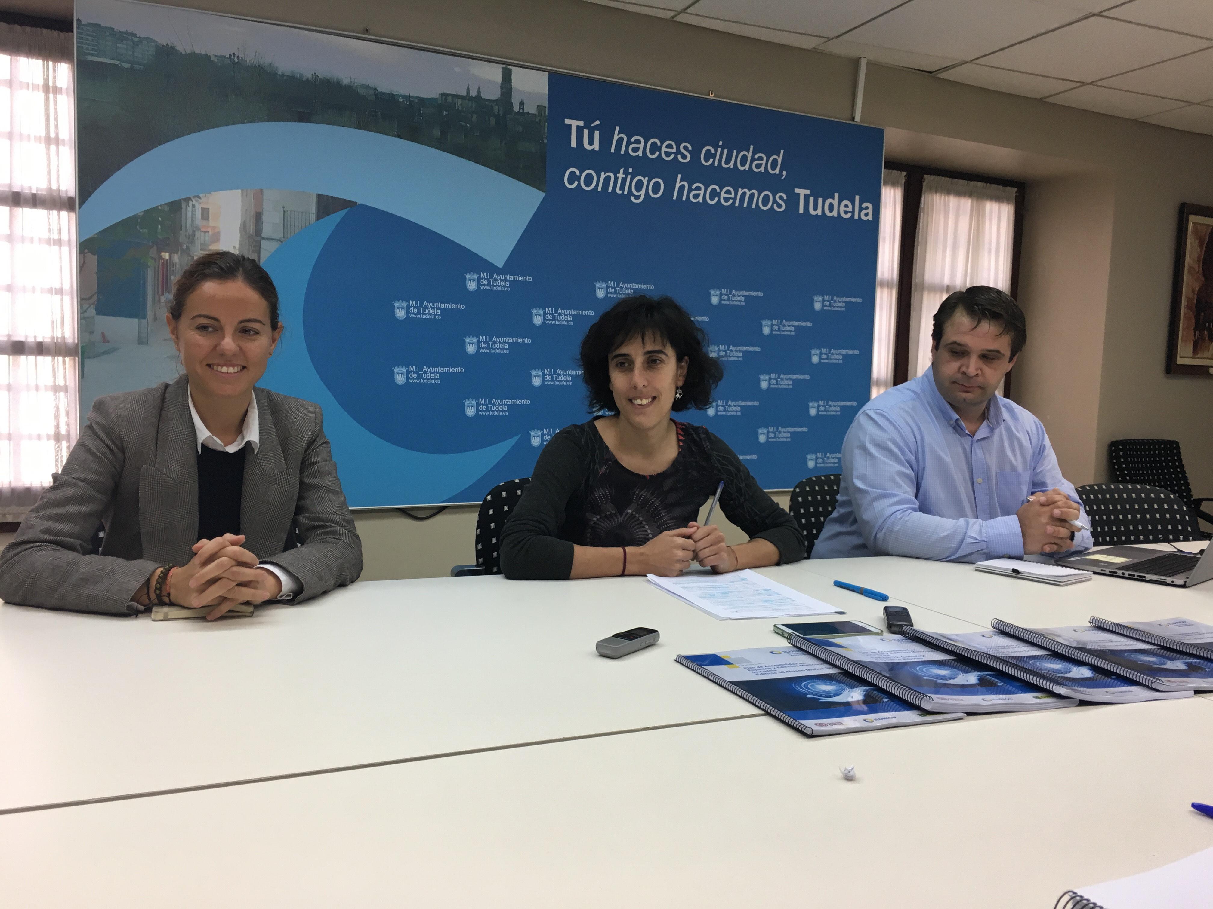 ILUNION asesora al Ayuntamiento de Tudela para eliminar las barreras de accesibilidad