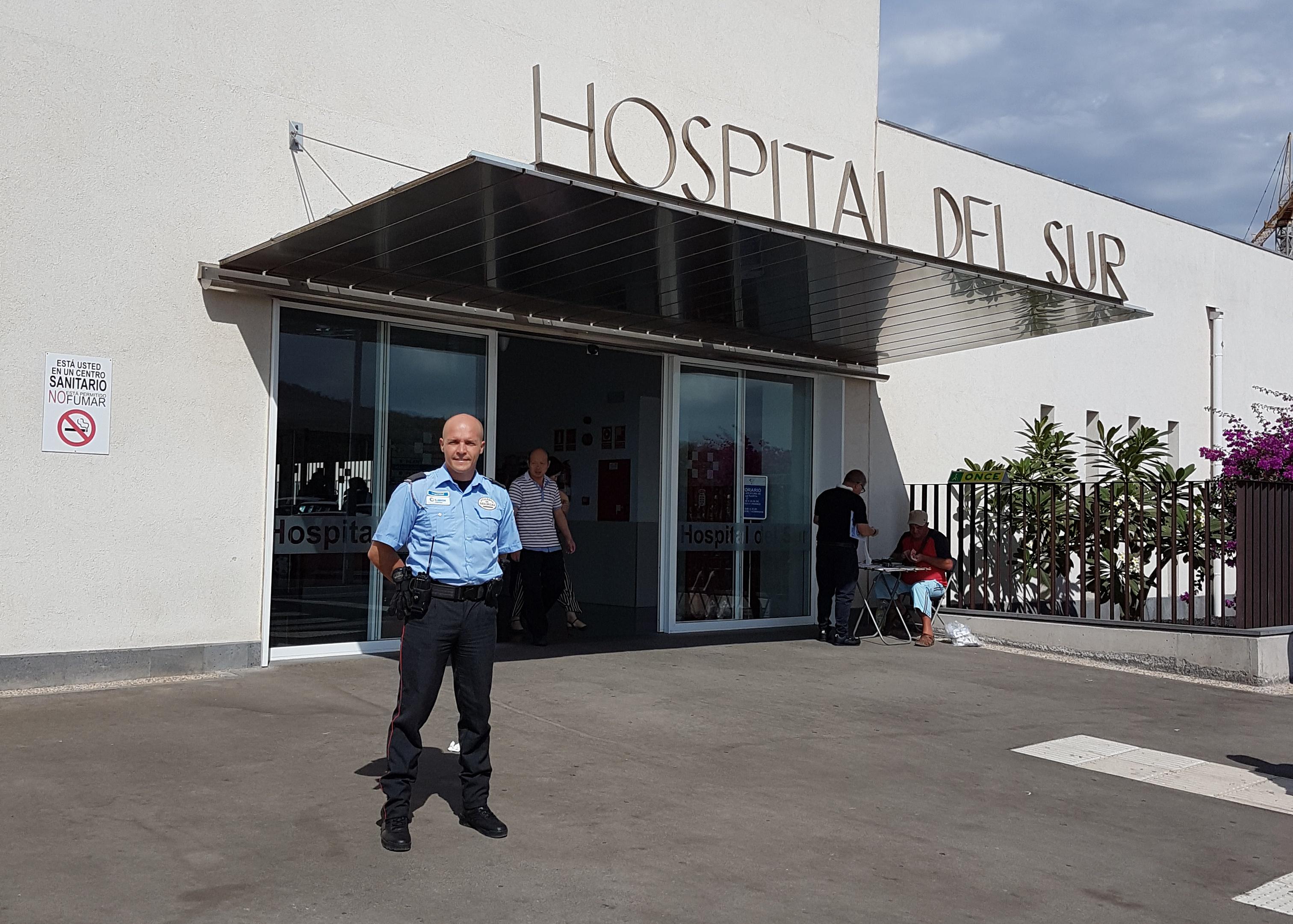 Raúl González, vigilante de ILUNION Seguridad