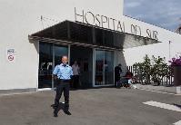 Raúl González media en un altercado en el Hospital del Sur de Tenerife