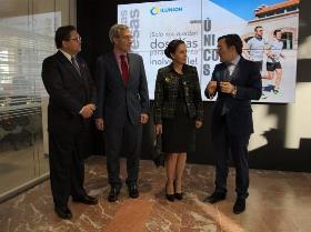 PORTADA Foto de la visita de la primera dama de Ecuador a Torre ILUNION