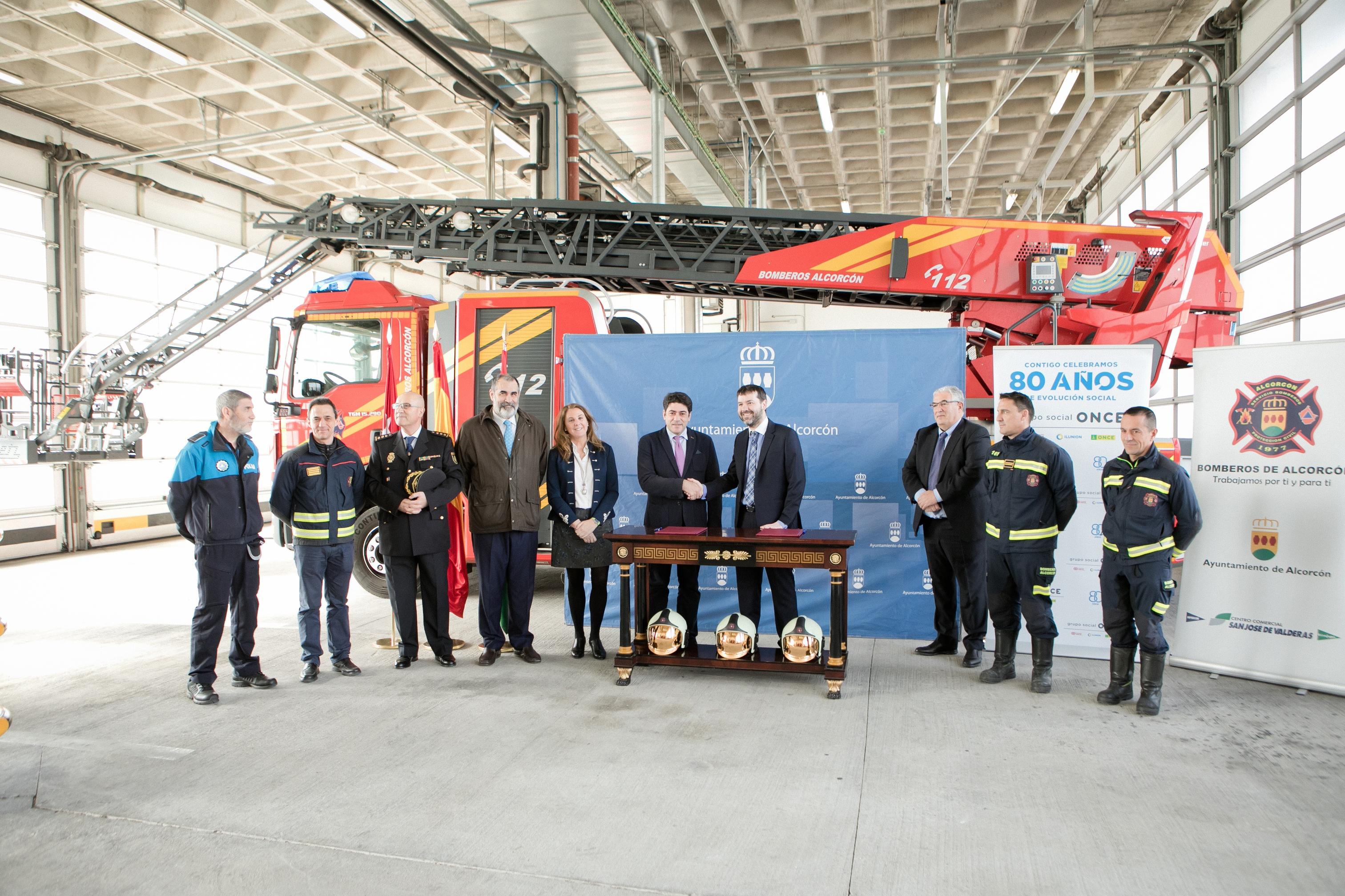 ILUNION Seguridad formará a los bomberos de Alcorcón